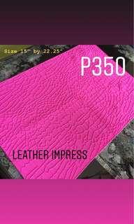 Leather Impress Mold