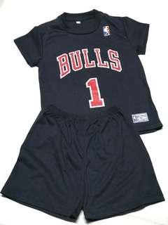 Bulls Kids Sports Wear