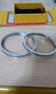 🚚 鋼手環(對環)