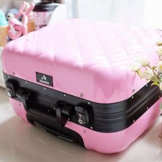 beauty case koper makeup make up kotak tas kosmetik kaca rias led