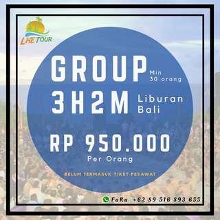 Paket Liburan Group 3H2M BALI