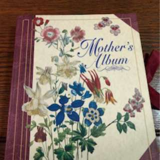 Floral antique désigné photo albums