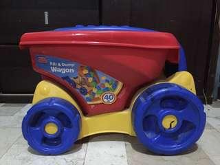 Mega Bloks Wagon with Blocks