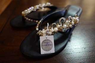 daisy reyes swarovski luxury sandals