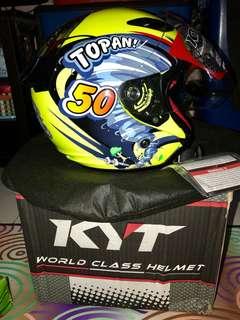 Helmet KYT single visor TOPAN 50