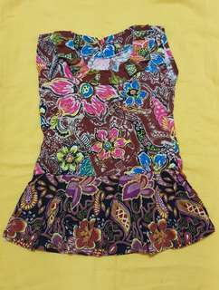 BATIK DRESS FOR 1-2 YEARS OLD