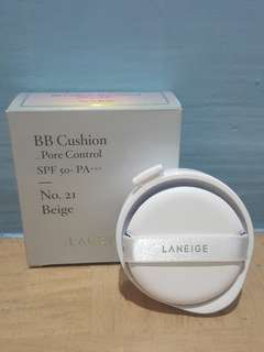 Laneige cushion pore control