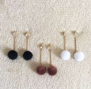 Pompom Collection Earrings