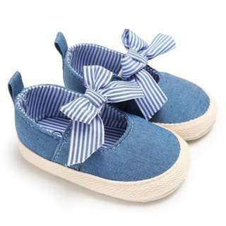 Baby Girl Soft Sole Crib Shoes Anti-slip Prewalker Shoes