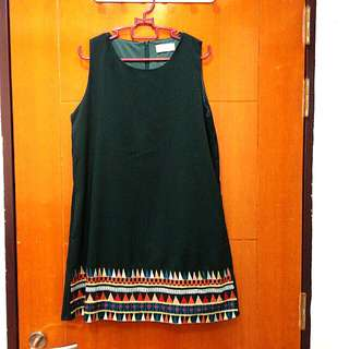 Mirrocle embroided dress