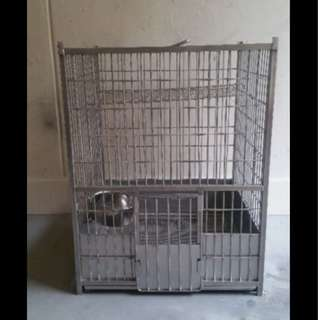 $100 Stainless Steel Cage for Birds or small animals Cats Parrots