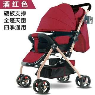 Baby Stroller/2 ways /recline/sit/bidirectional