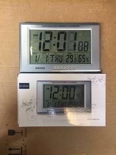多功能溫濕度萬年歷跳字鐘