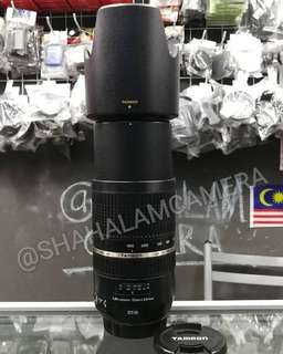 (USED) LIKE NEW TAMRON SP 70-300MM F/4-5.6 LD DI VC USD LENS FOR CANON DSLR CAMERA