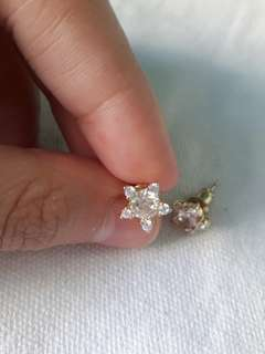 Star earrings