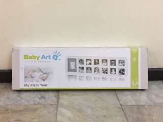 Baby Art Mold with Photo Frame