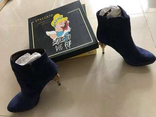 Suede ankle boots, Ground Zero 短靴