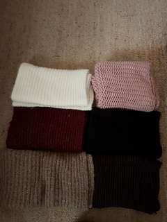 Various coloured scarf $5 each only right side left