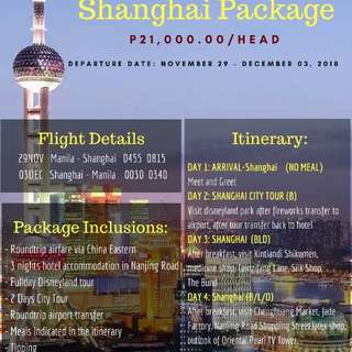 Shanghai package