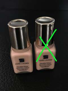 *Free by post* Estée Lauder Sample -Double Wear Stay-in-Place Make Up (1C1 cool bone)7ml