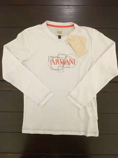 ORIGINAL Armani Junior Long Sleeves T-Shirt