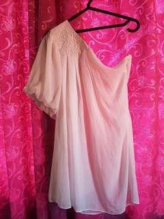 Semi-formal white dress