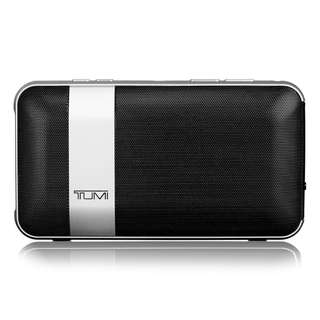 Crystal Clear Speaker Mic Ever - Authentic Tumi 114301DSLV Wireless Rechargeable Bluetooth Portable Conference Dual Mic Speaker With Powerbank *NEW*