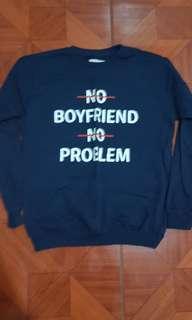 Penshoppe Women's Blue Sweatshirt