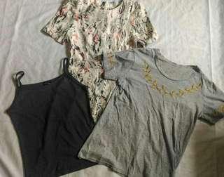 [3 for 100] BUNDLE #3: DRESS & 2 TOPS