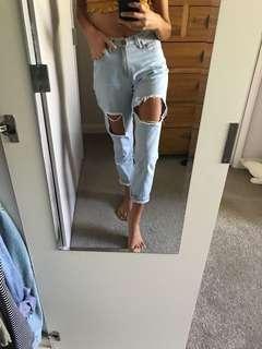 Wakee Denim Boyfriend Jeans