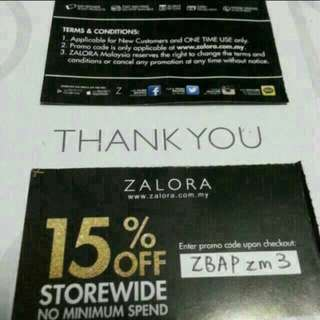 FREE Zalora 15% Off Code