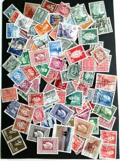 Lots of Norway stamps