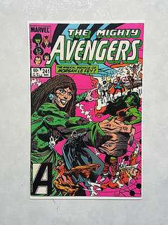 Marvel Comics Avengers 241 Near Mint Condition