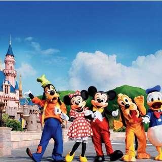 Hong Kong Disneyland - 1 Day Pass