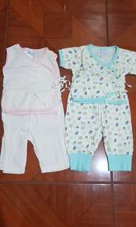 Baby Pyjamas Set of 3