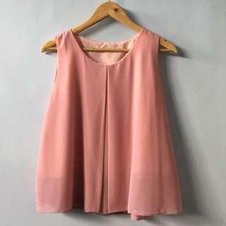 Pink Flow Top