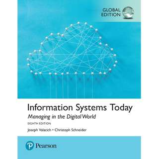 Human behaviour in the social environment a multidimensional information systems today managing in the digital world global 8th eighth edition by joseph valacich fandeluxe Images