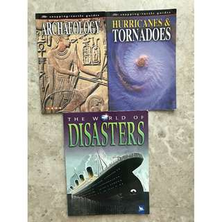 Archaeology, Hurricanes & Tornadoes, The World of Disasters