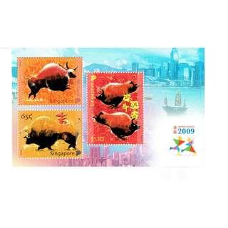 Hong Kong 2009  Zodiac Ox