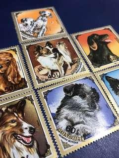 1984 蒙古世界名犬 寵物狗 7全