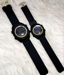 Jam Adidas couple limited edition watches