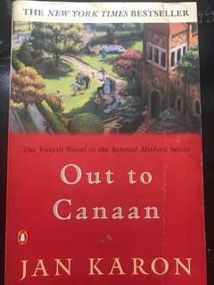 BOOKS: Out of Canaan
