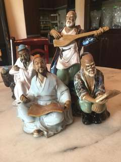 Chinese Statues Set of 4