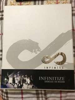 Infinite - INFINITIZE Showcase DVD+寫珍集+7張post card (團體及個人)