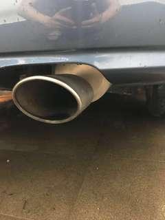 Civic FD1 mugen exhaust