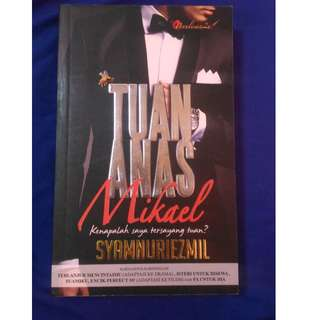 Malay Novel Book ( Tuan Anas Mikael)