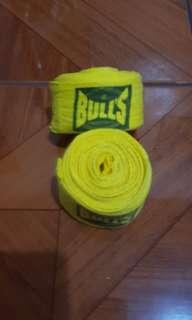 Bulls Hand Wraps