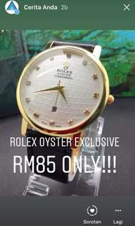 Rolex Oyster leather limited watch