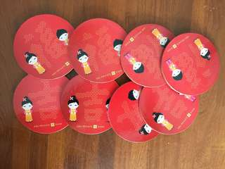 DBS Private Bank Coasters