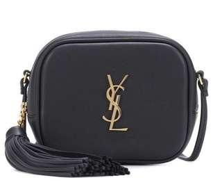 YSL Saint Laurent Monogram Leather Shoulder Bag